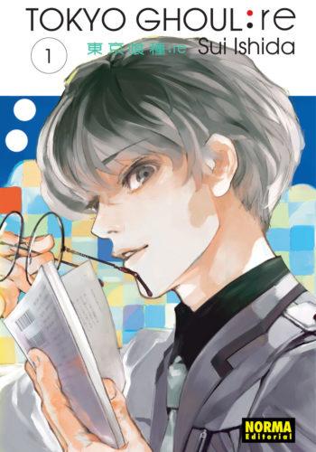 Tokyo Ghoul:re manga Tomo 1