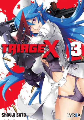 Triage X manga tomo 3