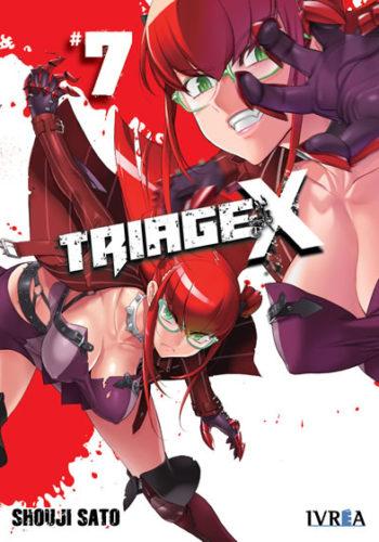 Triage X manga tomo 7