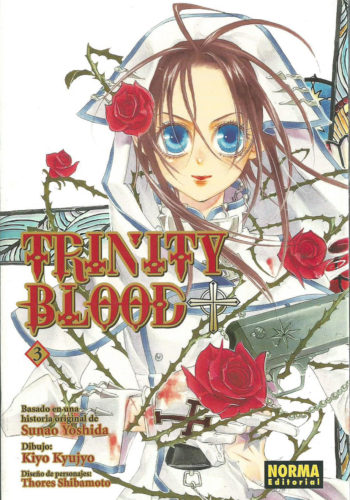 Manga Trinity Blood 03