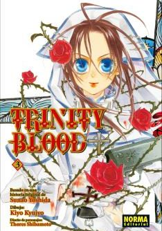 Trinity Blood Manga Tomo 3