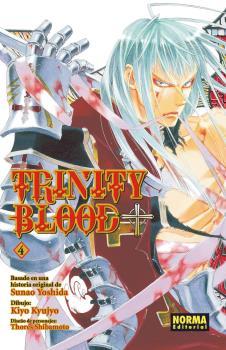 Trinity Blood Manga Tomo 4