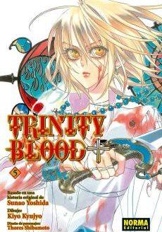 Trinity Blood Manga Tomo 5