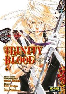 Trinity Blood Manga Tomo 6