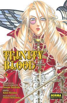 Trinity Blood Manga Tomo 9
