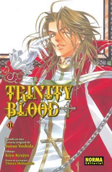 Trinity Blood Manga Tomo 11
