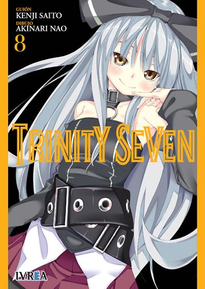 Trinity Seven manga tomo 8
