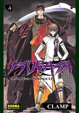 Tsubasa Reservoir Chronicle Manga Tomo 4