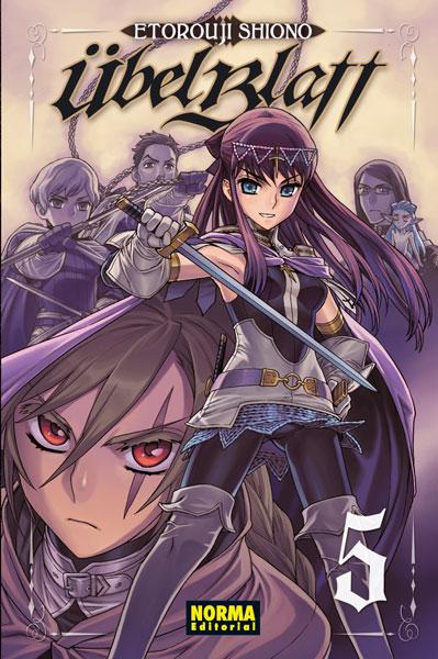 Übel Blatt Manga Tomo 5
