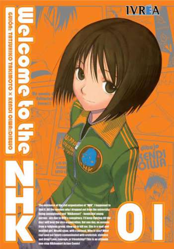 Welcome To The Nhk manga tomo 1