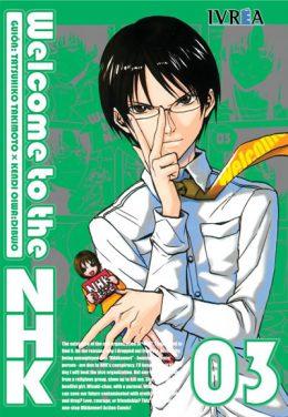 Welcome To The Nhk manga tomo 3