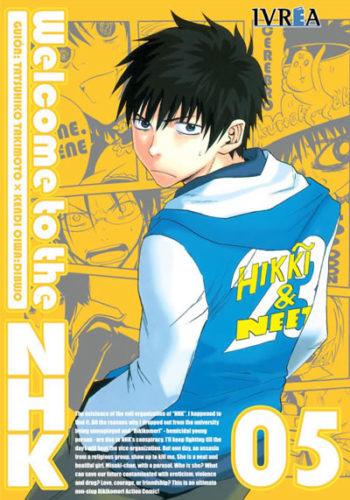 Welcome To The Nhk manga tomo 5