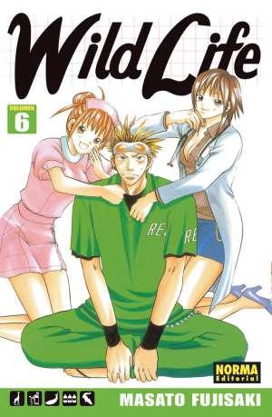 Wild Life Manga Tomo 6