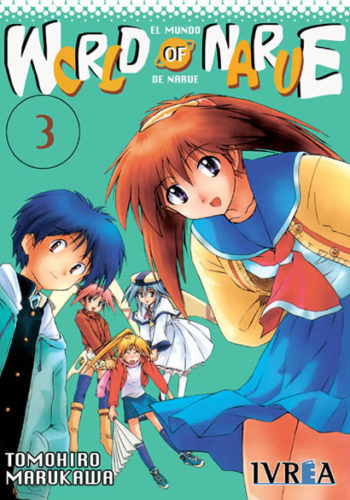 World Of Narue manga tomo 3