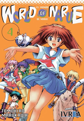 World Of Narue manga tomo 4