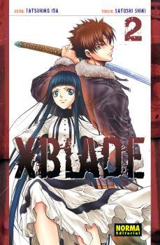 XBlade Manga Tomo 2