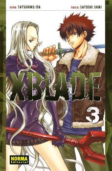 XBlade Manga Tomo 3