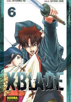 XBlade Manga Tomo 6