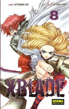 XBlade Manga Tomo 8