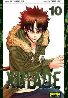 XBlade Manga Tomo 10