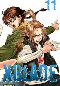 XBlade Manga Tomo 11