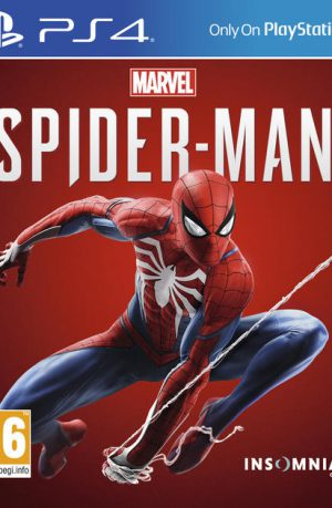 Marvels Spiderman PS4 Portada