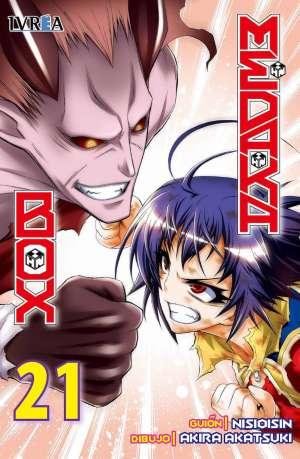 Medaka Box Manga Tomo 21