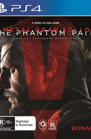 Metal Gear Solid V The Phantom Pain PS4 Portada