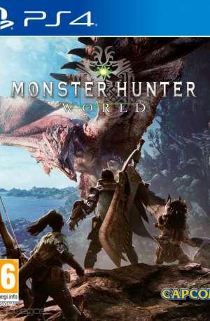 Monster Hunter World PS4 Portada