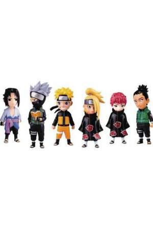 Naruto Shippuden Mininja Figuras Surtido Series 1 01