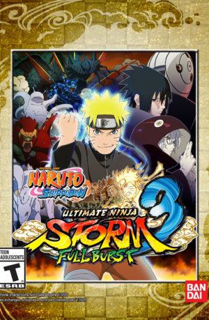 Naruto Shippuden Ultimate Ninja Storm 3 Full Burst PC Descargar