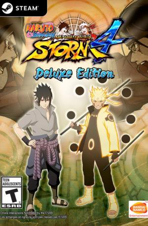 Naruto Shippuden Ultimate Ninja Storm 4 Deluxe Edition PC Descargar