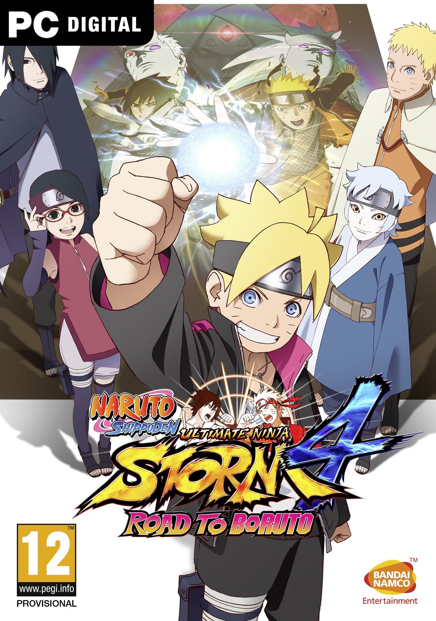 Naruto Shippuden Ultimate Ninja Storm 4 Road to Boruto DLC PC Descargar