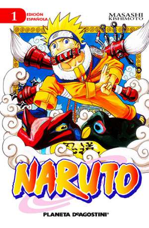 Naruto manga tomo 1