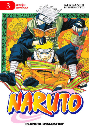Naruto manga tomo 3