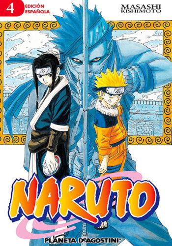 Naruto manga tomo 4
