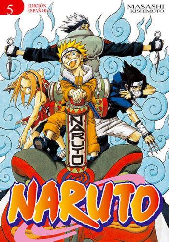 Naruto manga tomo 5