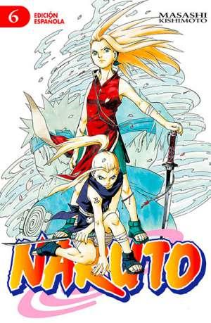Naruto manga tomo 6