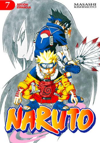 Naruto manga tomo 7