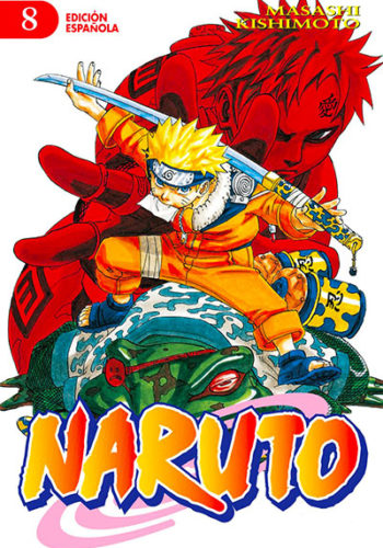 Naruto manga tomo 8