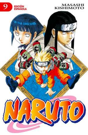 Naruto manga tomo 9