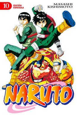 Naruto manga tomo 10
