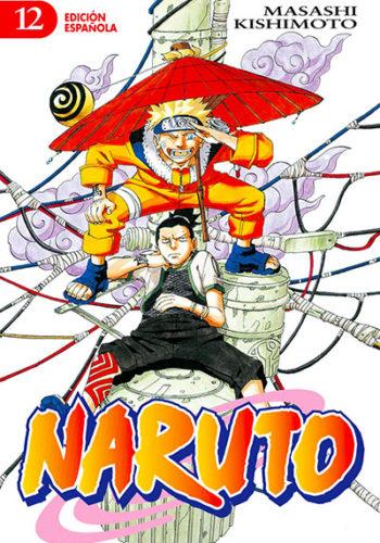 Naruto manga tomo 12