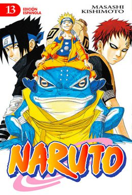 Naruto manga tomo 13