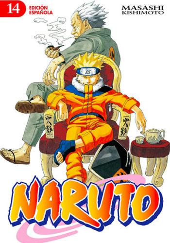Naruto manga tomo 14