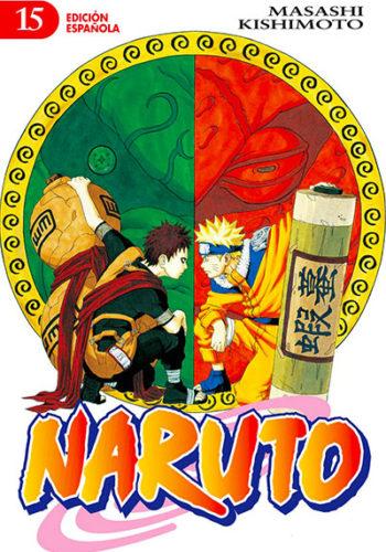 Naruto manga tomo 15