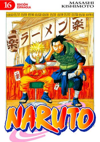 Naruto manga tomo 16