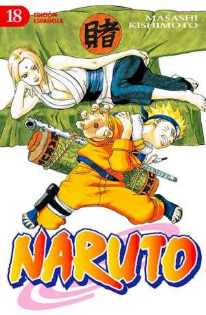 Naruto manga tomo 18