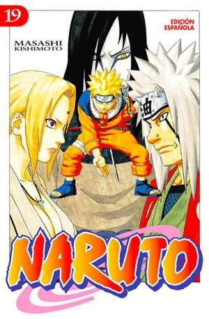 Naruto manga tomo 19