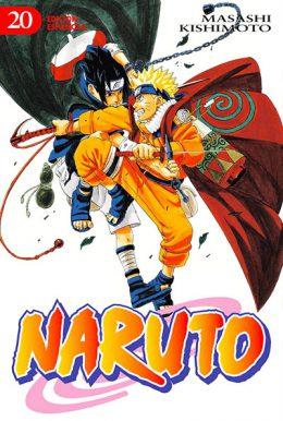 Naruto manga tomo 20